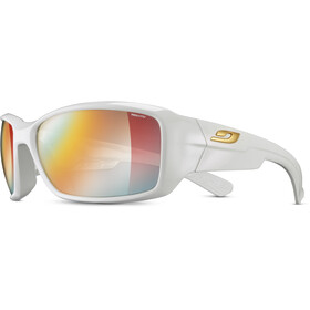 Julbo Whoops Zebra Lunettes de soleil, shiny white/multilayer red